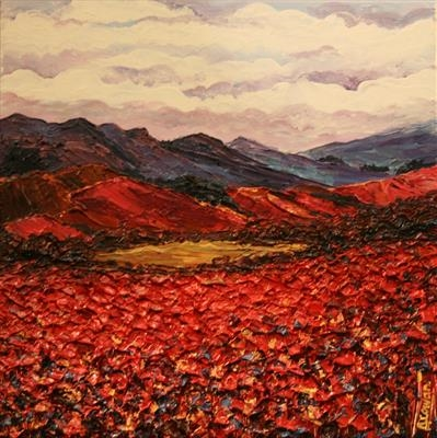 As Far as the Eye Can See by Alison Cowan, Painting, Acrylic on canvas