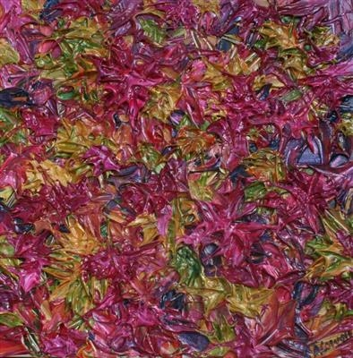 Brocade by Alison Cowan, Painting, Acrylic on canvas
