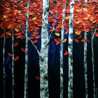 Canopy by Alison Cowan, Painting, Acrylic on canvas