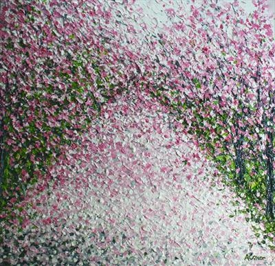 Confetti Carpet by Alison Cowan, Painting, Acrylic on canvas