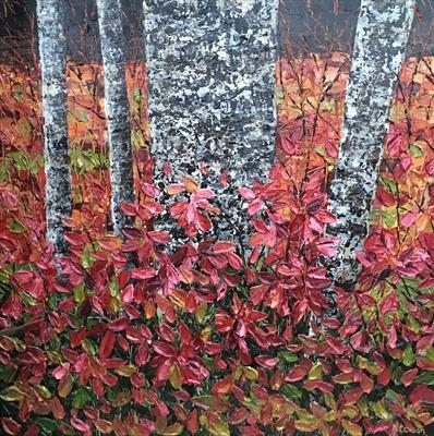 Forest Floor by Alison Cowan, Painting, Acrylic on canvas