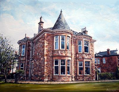 Montgomerie Home by Alison Cowan, Painting