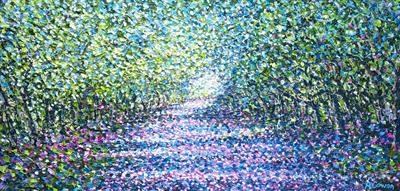 Secret Path by Alison Cowan, Painting, Acrylic on canvas