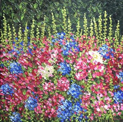 Summer Burst by Alison Cowan, Painting